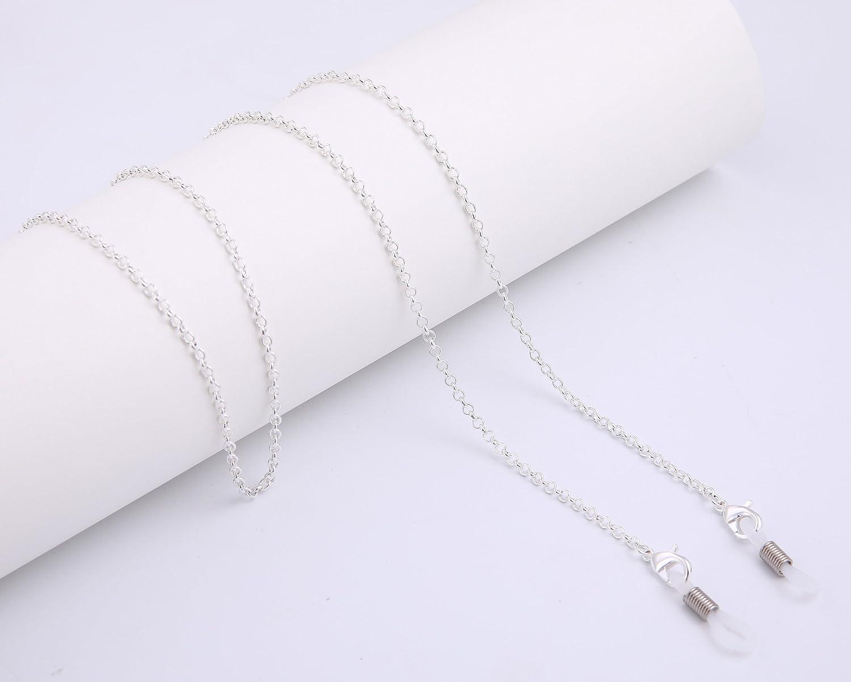 8f6621731c65a Likgreat Chaîne de lunettes de soleil pour femme avec perles pour lunettes  de lecture  Amazon.fr  Bijoux