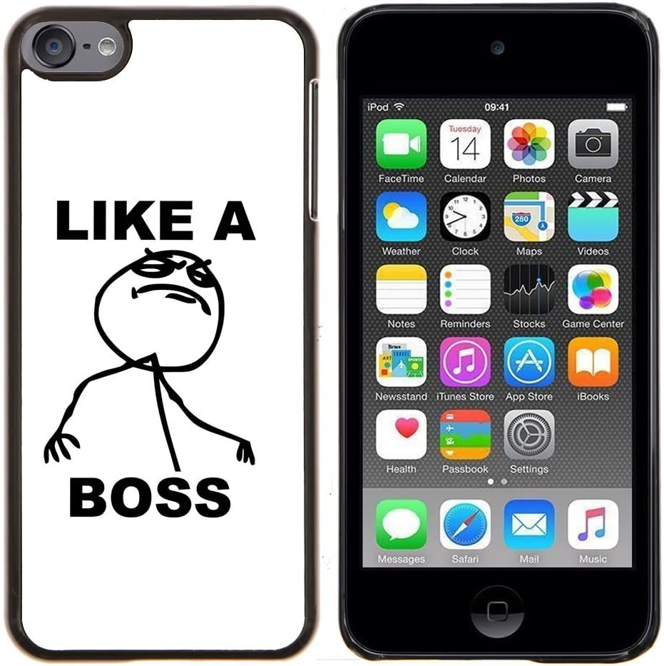 Graphic4You Like A Boss Internet Meme Design Thin Slim Rigid Hard Case Cover for Apple iPod Touch 6