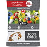 HARI Tropimix Bird Food, Large Parrot Food with Seeds, Fruit, Nuts, Vegetables, Grains, and Legumes, Enrichment Food, 20…