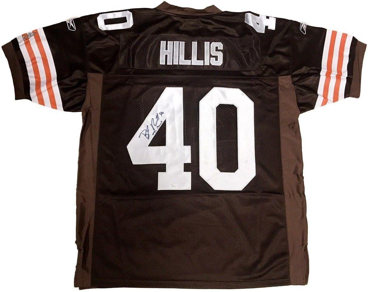 Peyton Hillis Cleveland Browns (The Beast) Signed Jersey JSA ...