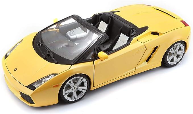 Bburago 1:18 Gold Lamborghini Gallardo Spyder