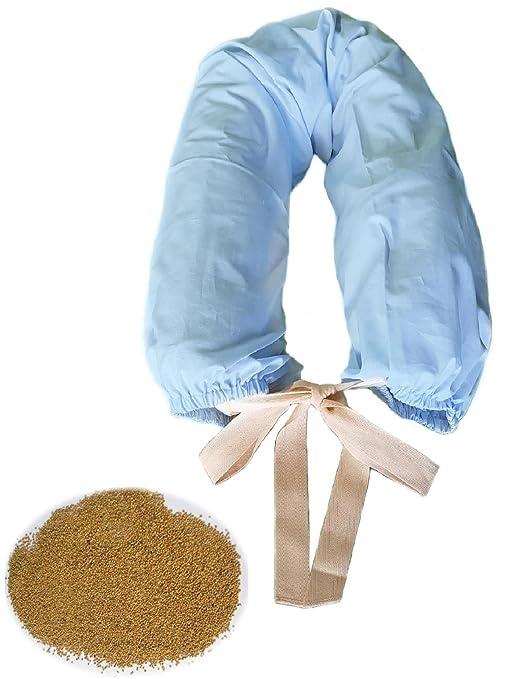 Cuscino Di Miglio Per Neonati.Morbidoso Azzurro Cuscino Per Allattamento Neonato E Sostegno