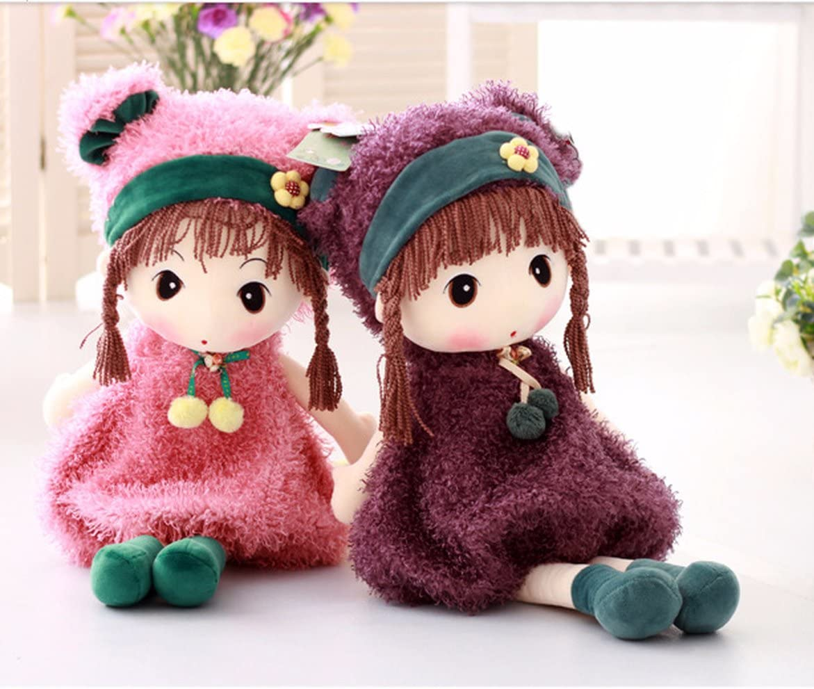 Cute fairy doll plush toy little girl child doll gift 40cm multiple colour