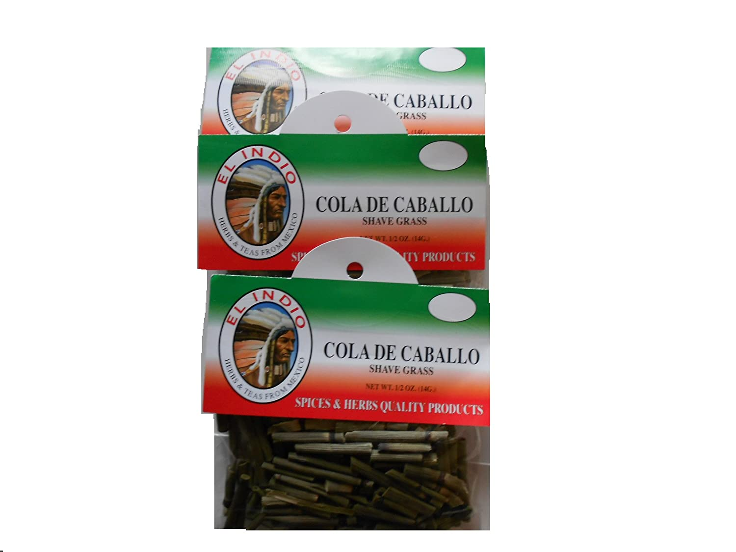 Amazon.com : Cola de Caballo / Shave Grass 1/2oz (14gr) : Grocery & Gourmet Food
