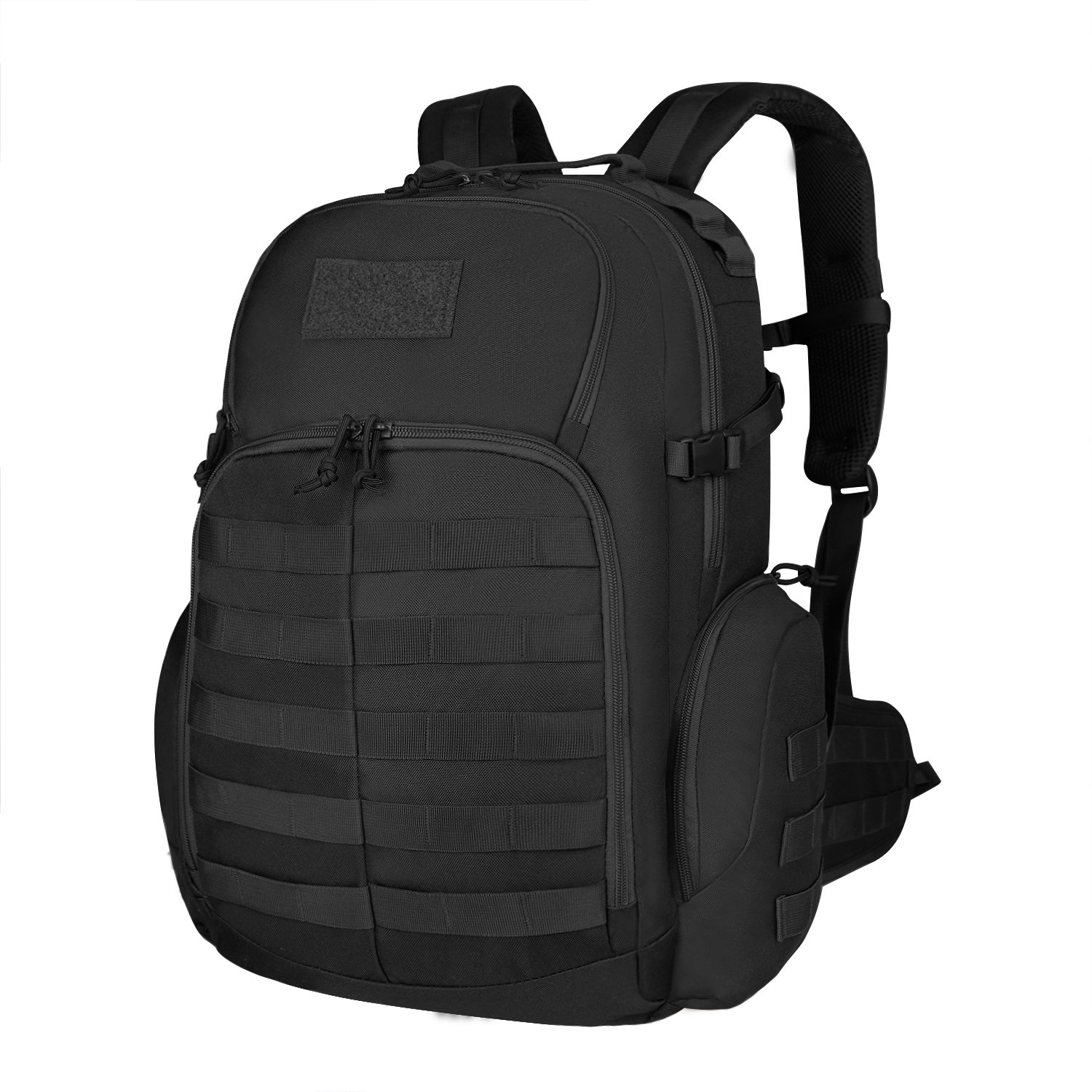 Mardingtop 35L Tactical Backpacks Molle Hiking daypacks for Camping Hiking Military Traveling (M6232-Black)