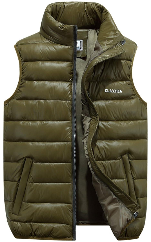 JOKHOO Mens Lightweight Outdoor Down Puffer Vest