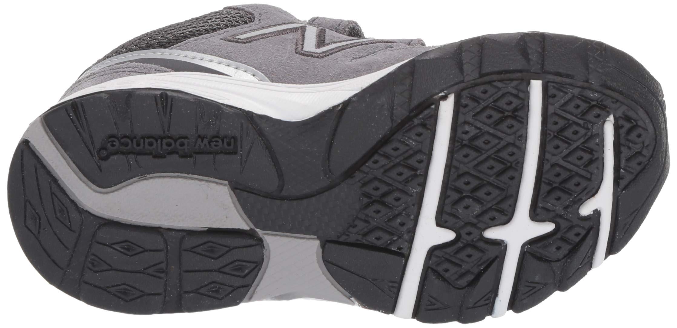 New Balance Boys' 888v2 Hook and Loop Running Shoe, Dark Grey, 2 M US Infant by New Balance (Image #3)