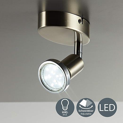 Briloner Wandlampe Spot Deckenleuchte Wandleuchte Strahler LED möglich,GU10