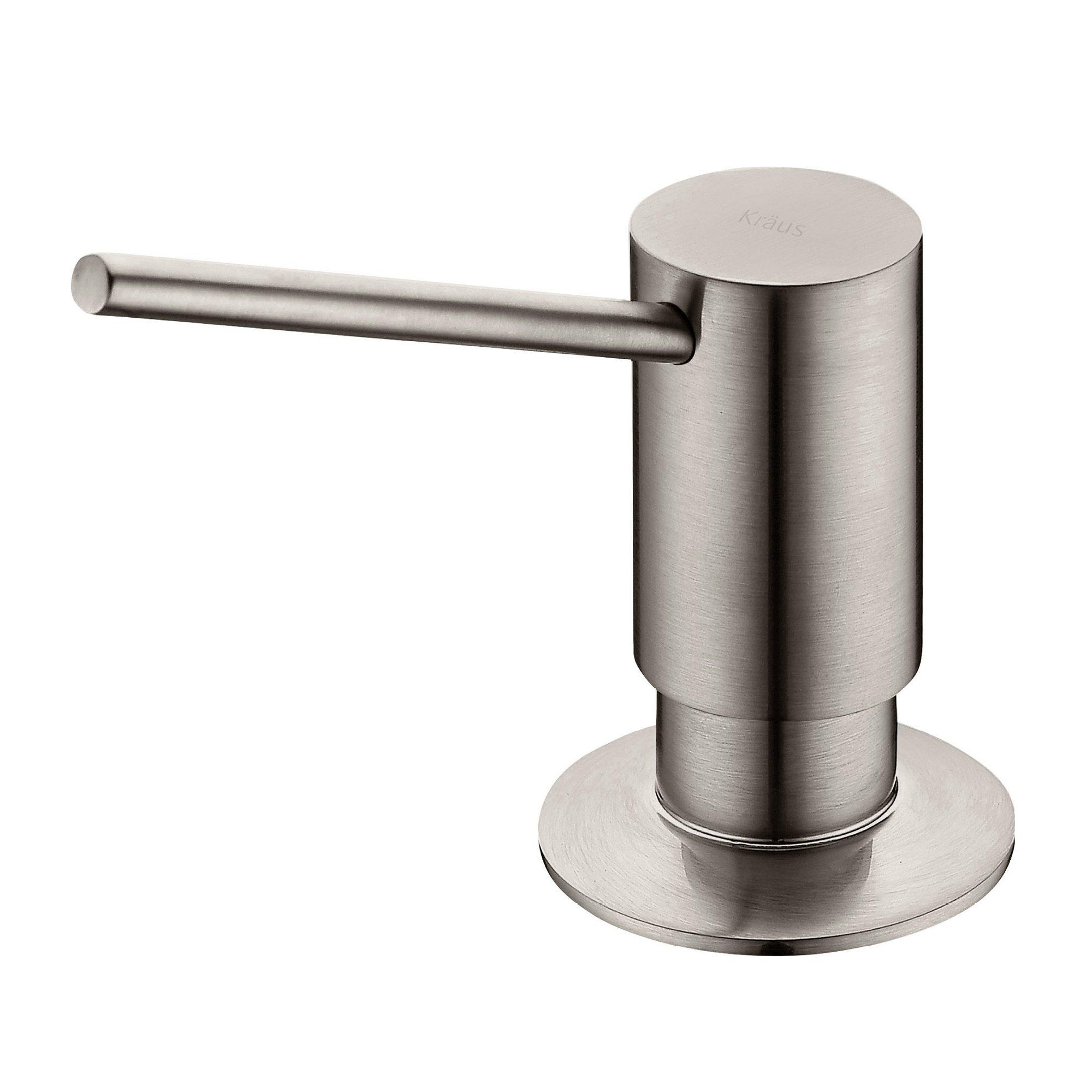 Kraus KSD-41SS Modern Soap Dispenser, Stainless Steel