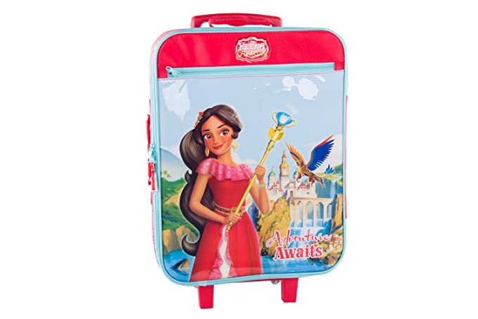 Maleta semirrígida DISNEY ELENA DE AVALOR rojo mini equipaje ryanair VS117: Amazon.es: Ropa y accesorios