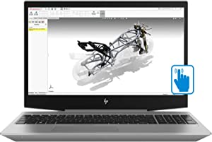"HP ZBook 15v G5 Mobile Workstation Laptop (Core i7-8750H, 16GB RAM, 256GB PCIe SSD, 15.6"" Touch FHD 1920x1080, Quadro P600 4GB GDDR5, Thunderbolt 3, HDMI 2.0, RJ45, WiFi, Bluetooth, Win10 Pro)"