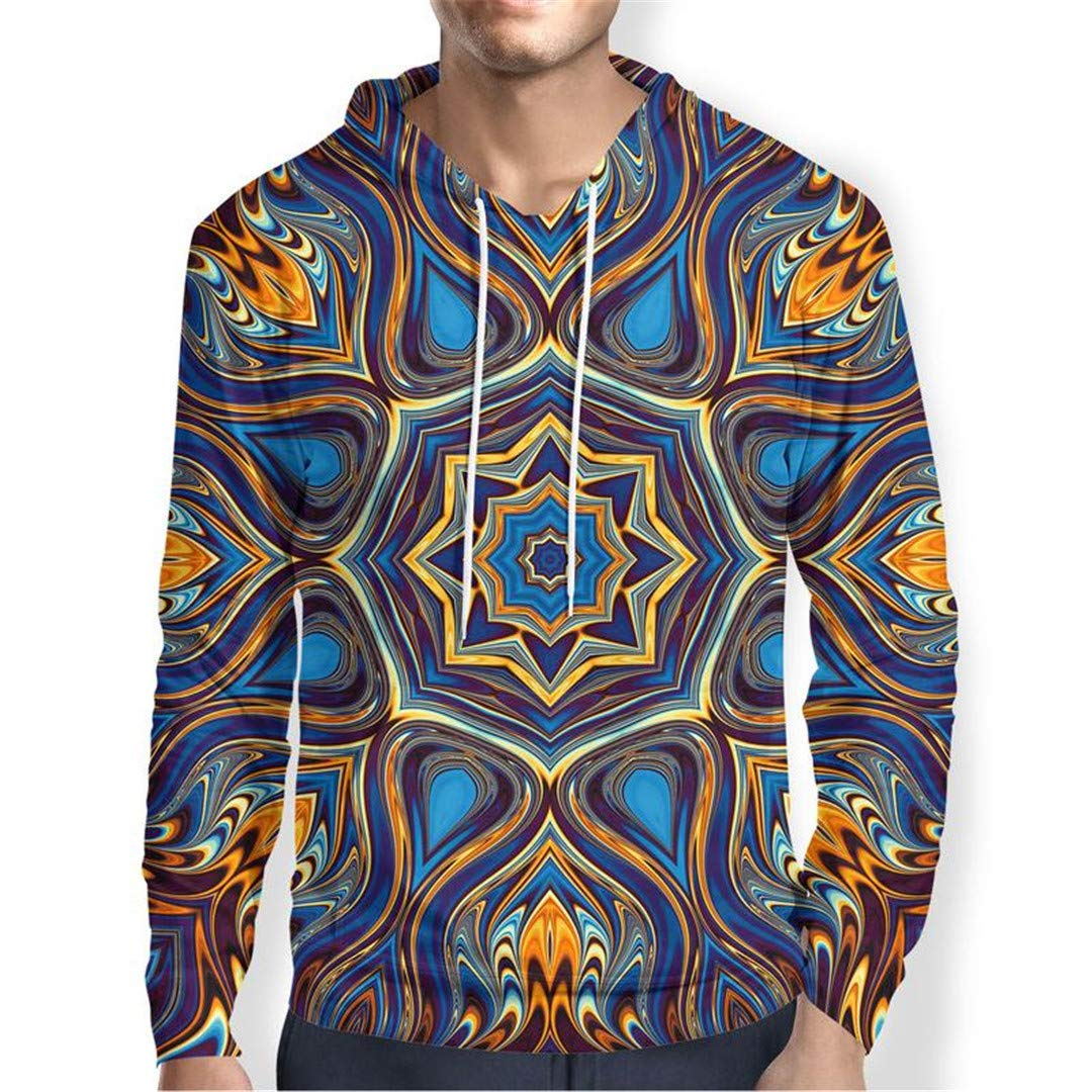 Fowerty Mandala Hoodies Sweatshirts Men Women Clothing Autumn Casual Tracksuit 3D Hoodie 5XL
