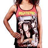 Pulp Fiction Cover Top Femme multicolore