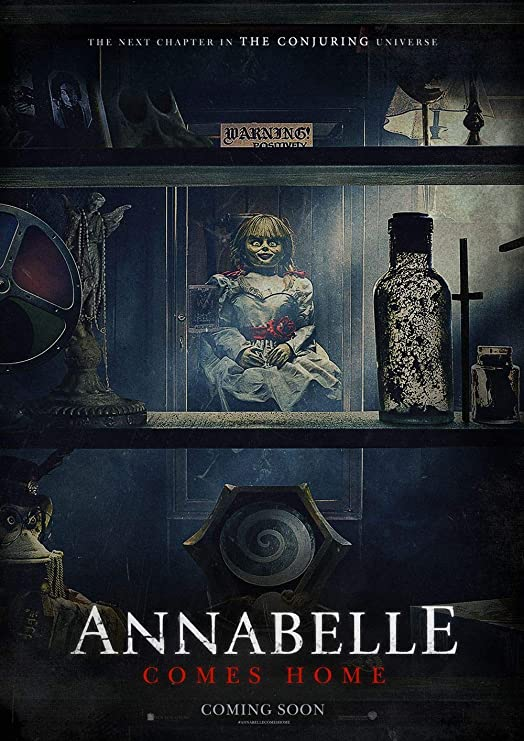 Lionbeen Annabelle Comes Home Movie Poster Cartel de la ...