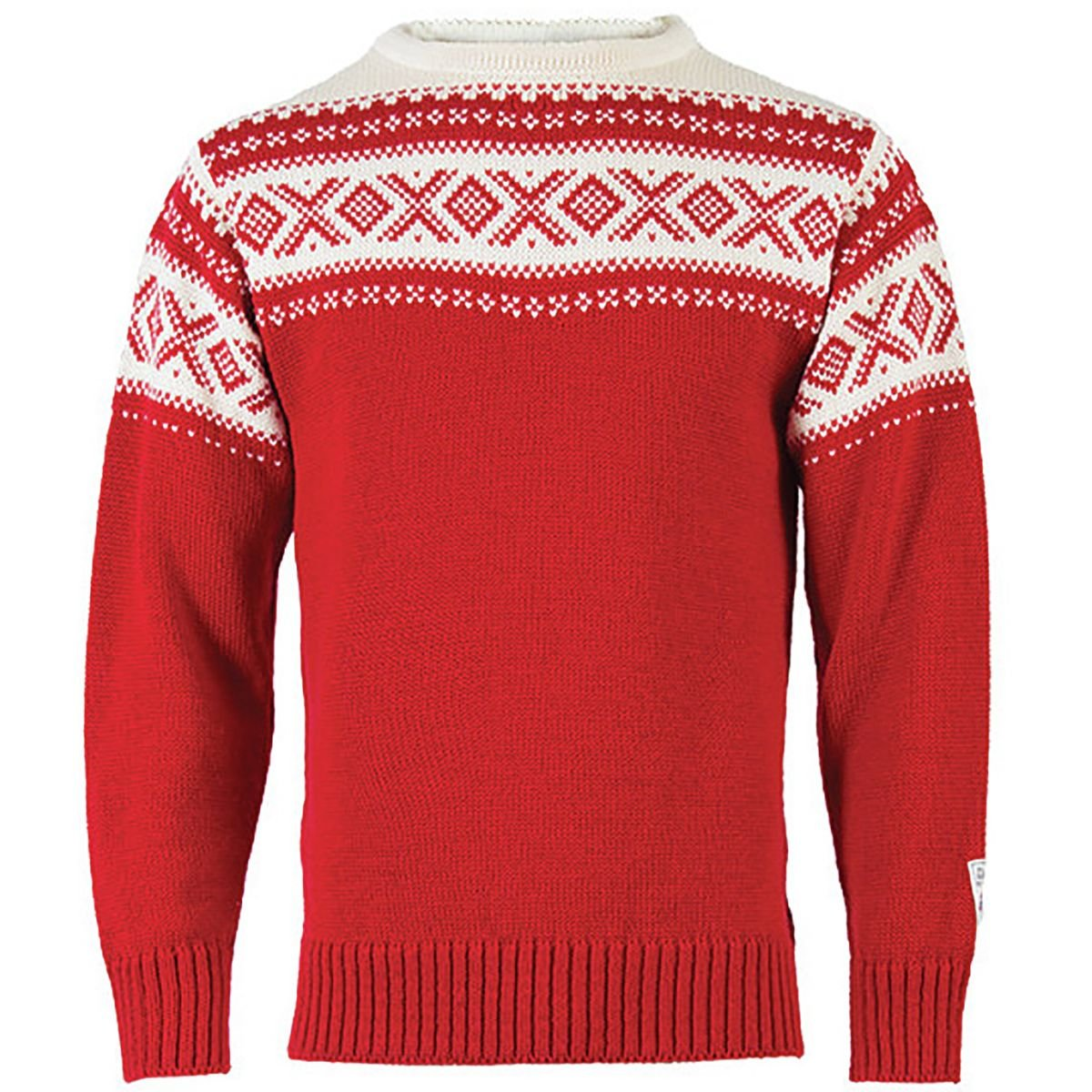 Dale of Norway Cortina 1956 Sweater, Rot Off Weiß, XS