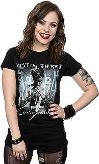 Justin Bieber Women's Purpose Album Cover T-Shirt Absolute Cult