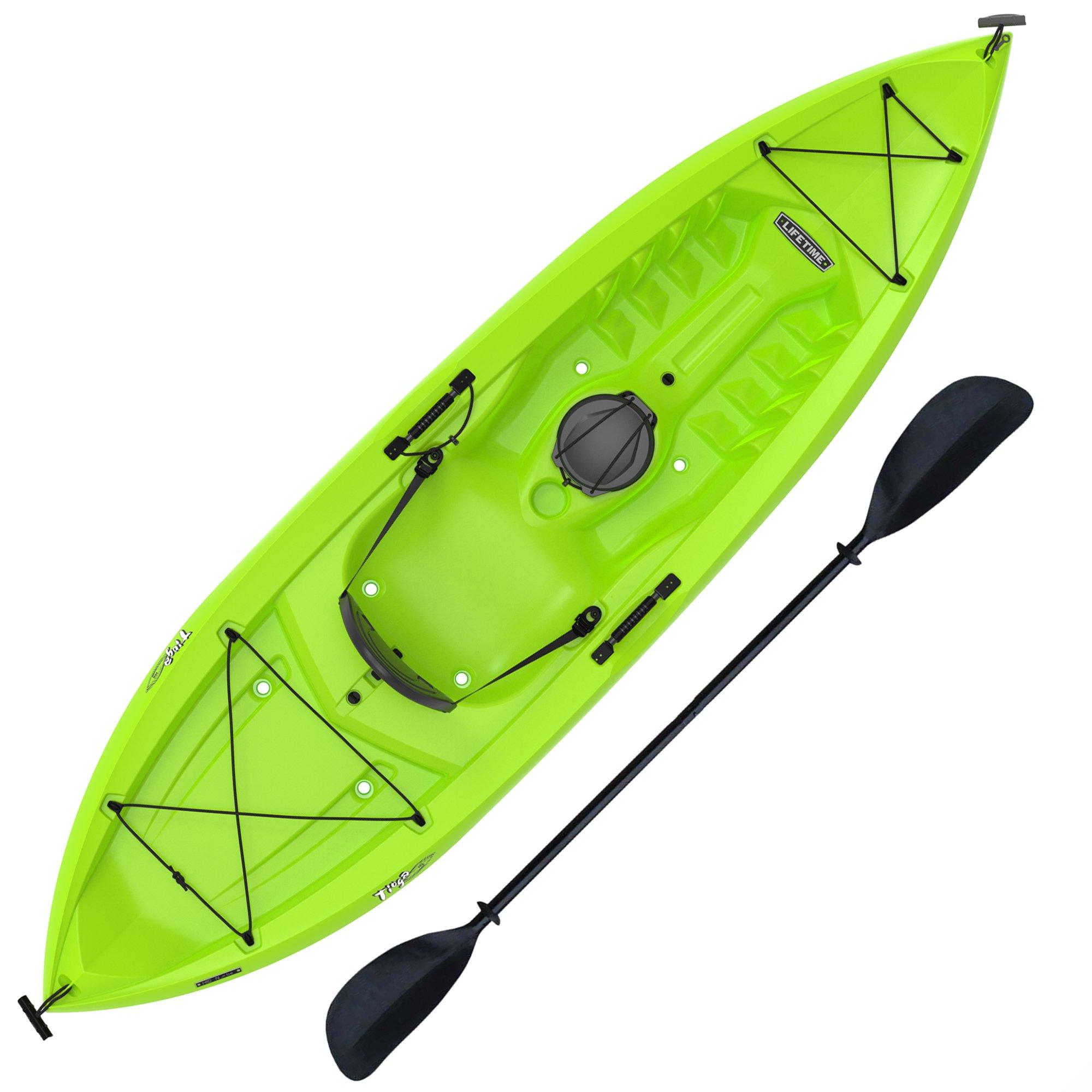 Lifetime Tioga Sit-On-Top Kayak, Lime, 120'' by Lifetime