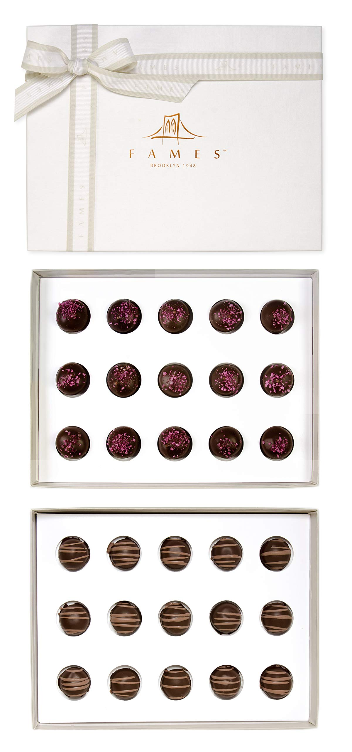 CDM product Chocolates For Gifting Gift Boxes - Gourmet Truffle, Berry swirl Chocolate boxes big image