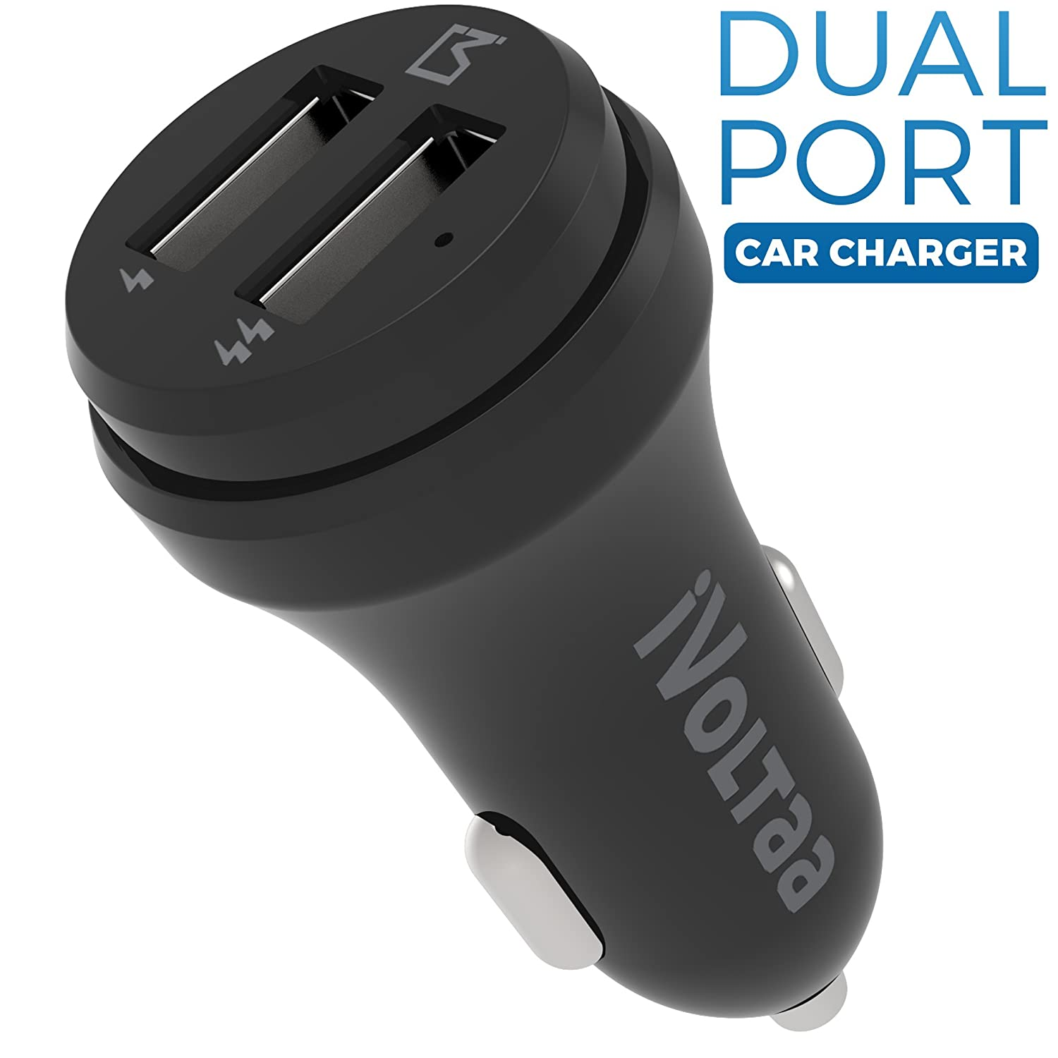 Chargers Cables Buy Online At Best Prices In Charger Mobil Car Saver Usb For Tablet Smartphone Ivoltaa 24a Dual Port Black