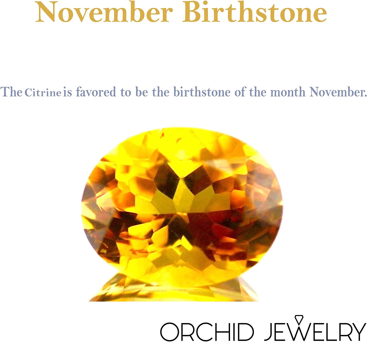 Natural November Birthstone Gemstone Rings Orchid Jewelry 0.40 Ctw 3mm Round Yellow Citrine Ring For Women 925 Sterling Silver Promise Ring For Girls A Simple and Beautiful Birthday Gift For Wife