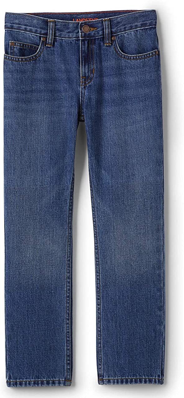 Lands End Boys Iron Knee Classic Fit Jeans