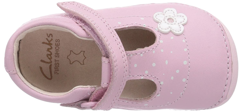 cfd2b68c73c Clarks Baby Girls  Little Linzi Walking Shoes Ballerinas Pink Size  5 Child  UK  Amazon.co.uk  Shoes   Bags