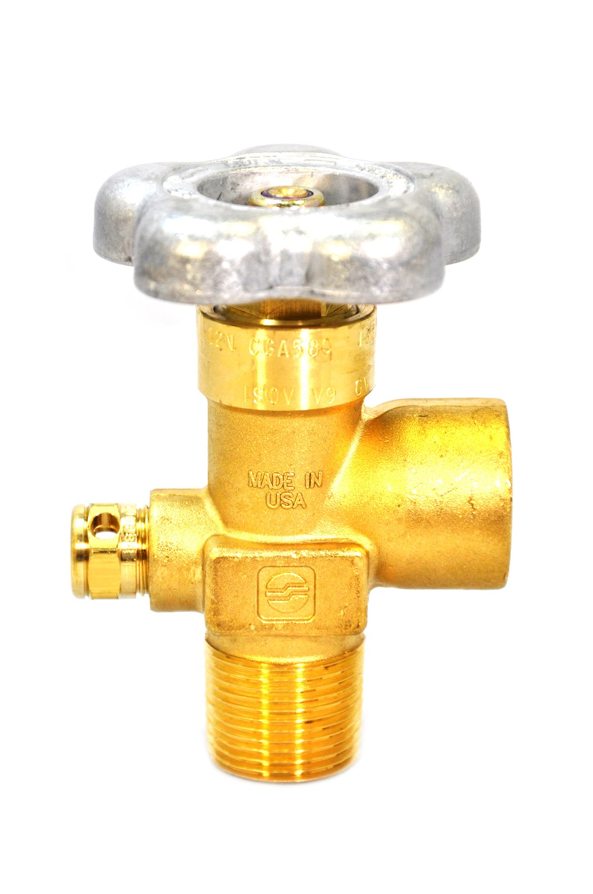Sherwood Global Valve 3000 PSI New Female Thread For Tank 3/4''NGT Compressed Gas (GV58061-28)