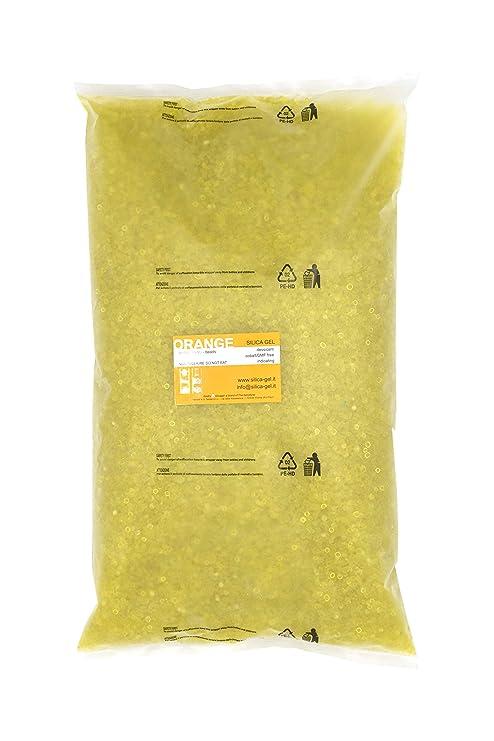 Disidry Silicagel indicating-Silica gel, ORANGE, a granel en ...