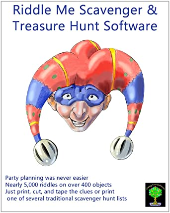 Amazon Riddle Me Scavenger And Treasure Hunt Clue Software For