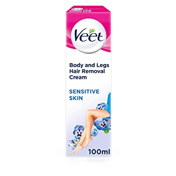 Amazon Com Veet Hair Removal Cream Sensitive Skin With Aloe Vera