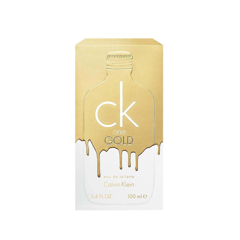 Calvin Klein CK One Gold Vaporizador Agua de Colonia - 100 ml: Amazon.es: Belleza