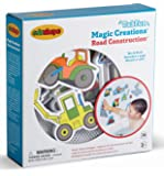 Edushape Magic Creations Bath Play Set, Construction Vehicles