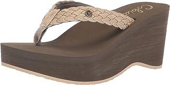 c27708cc543e3 Cobian Zoe Women s Flip Flop Wedge Sandal