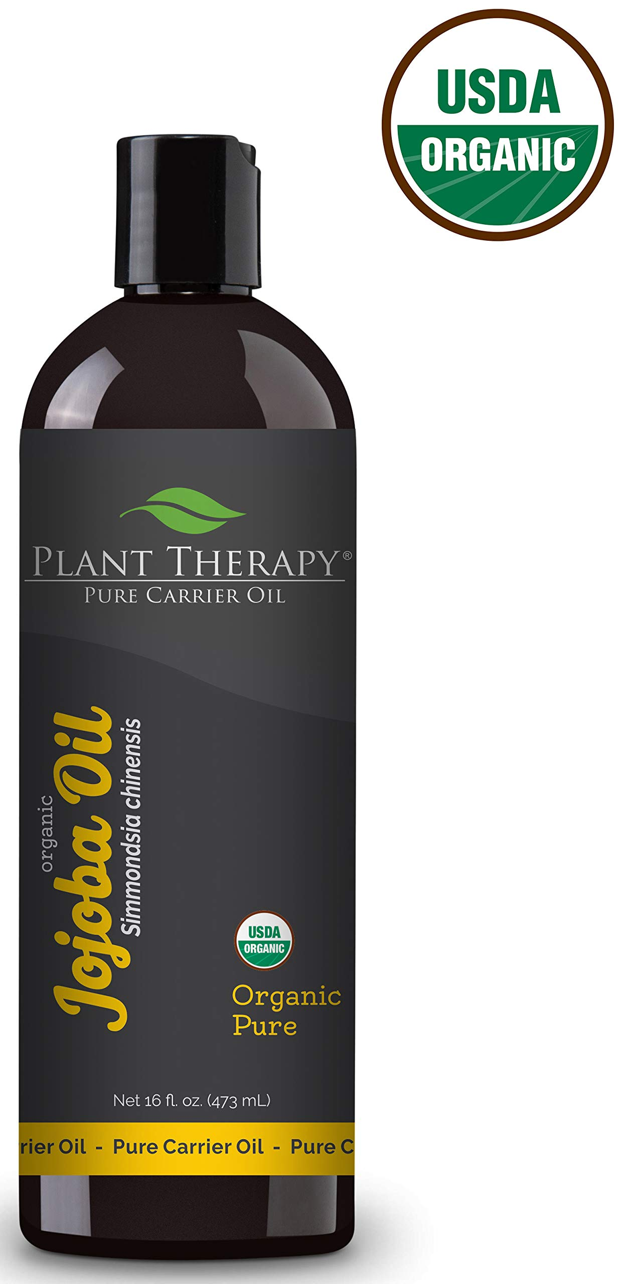 Plant Therapy Organic Jojoba Carrier Oil 16 fl. oz. by Plant Therapy