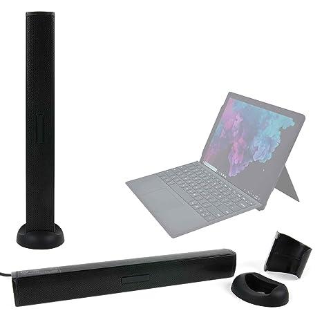 DURAGADGET Altavoz Soundbar para Portátil Microsoft Surface Laptop 2: Amazon.es: Electrónica