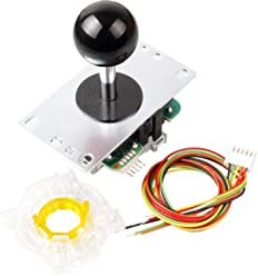 Seimitsu LS 32 Red Stick Arcade TE Mad Catz Joystick DIY Kit Mame Jamma