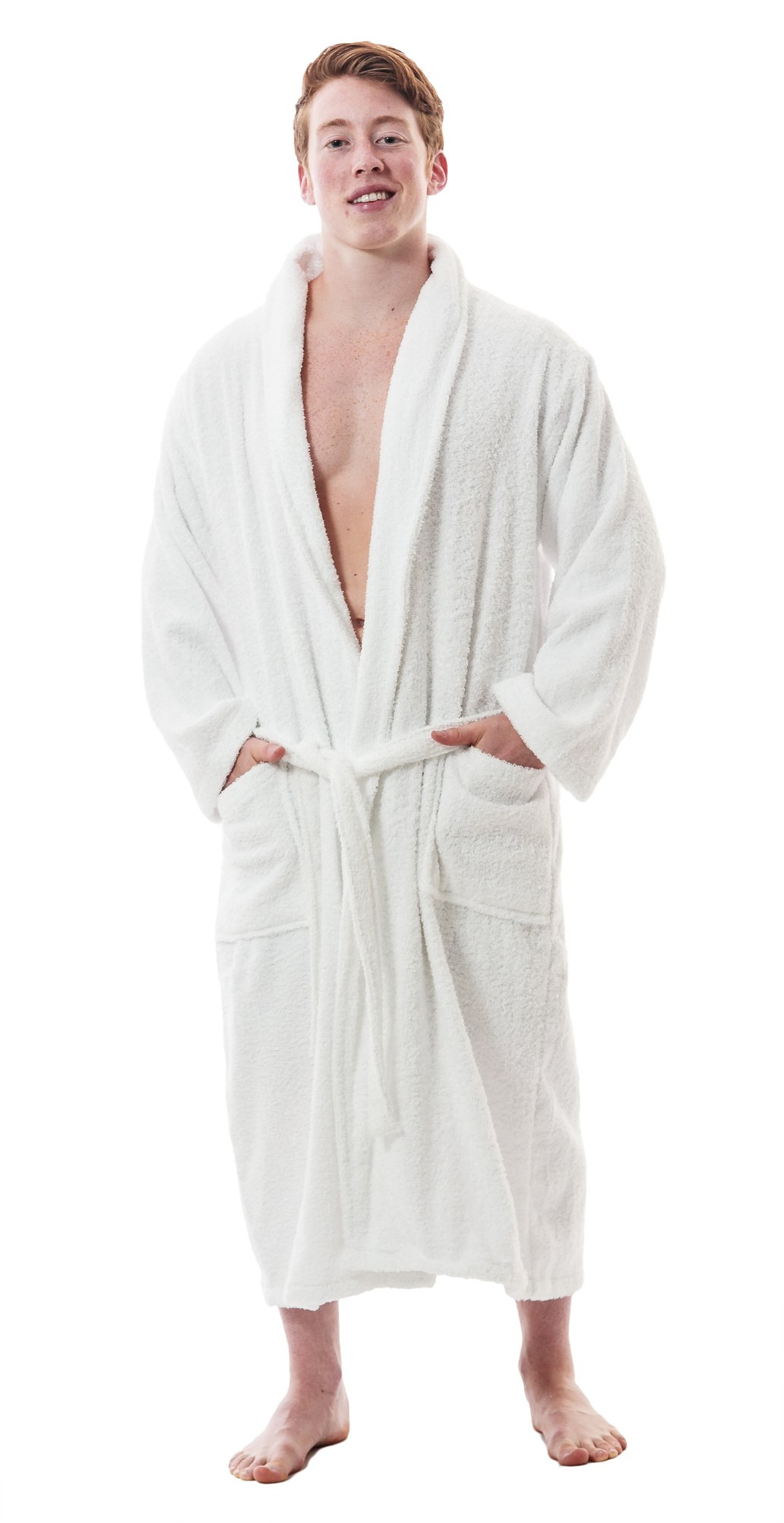 Up2date Fashion Men's Classic Terry Bath Robe, Style TRM54