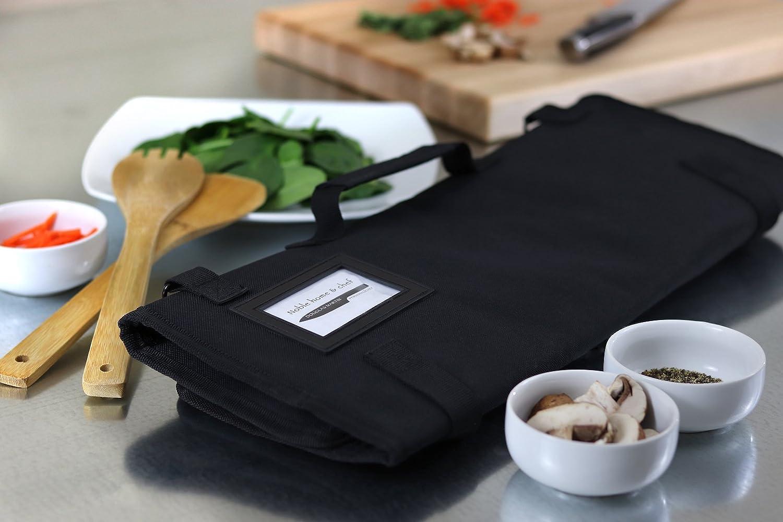 Amazon.com: La bolsa para cuchillos de Chef (8 + ranuras ...