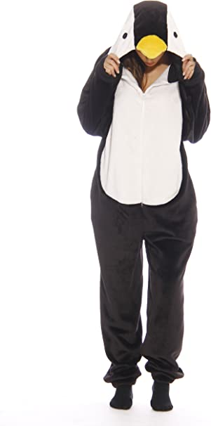 Amazon.com: Just Love terciopelo adulto Onesie pijama: Clothing