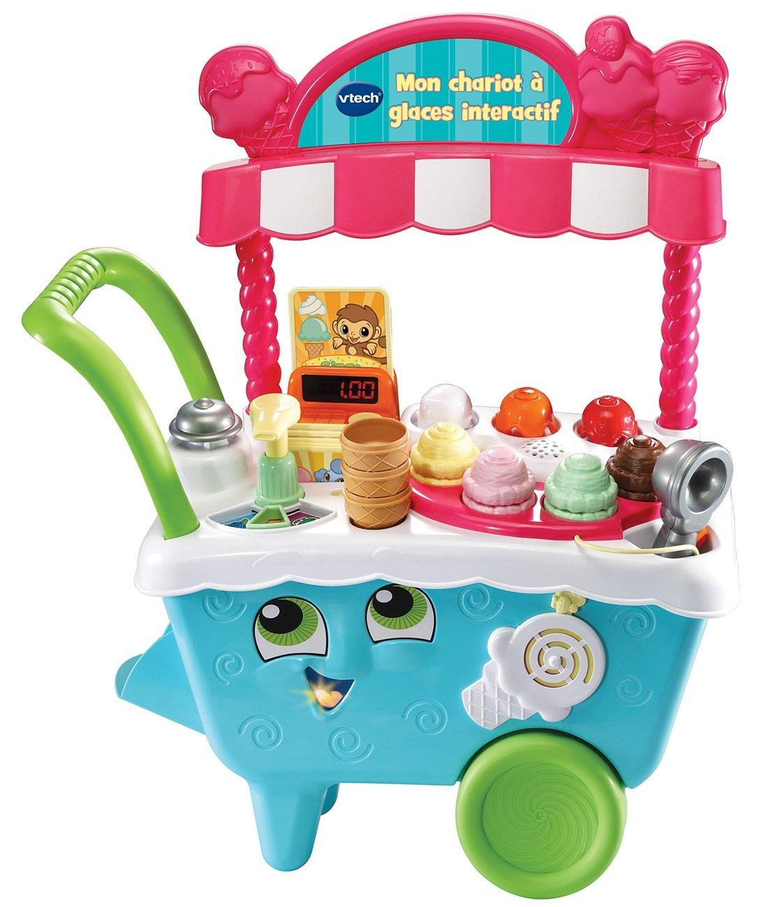 Vtech Mon Eiswagen, interaktiv, Spielzeug für Kinder, 600705, Mehrfarbig, Einheitsgröße Spielzeug für Kinder Einheitsgröße
