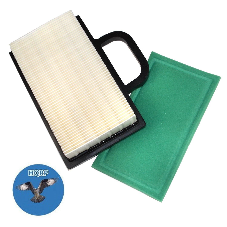 HQRP - Kit de filtro de aire (láser W/pre-cleaner) para John Deere ...