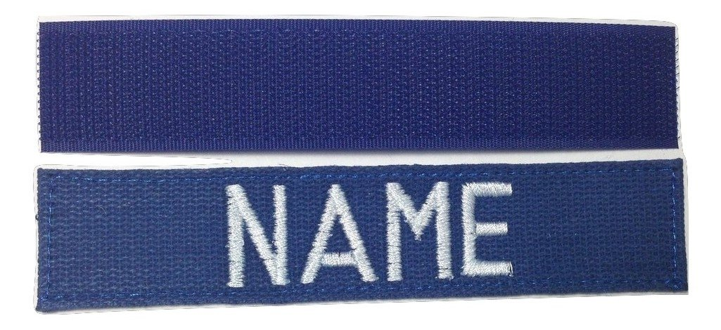 Custom Military Name Tape With Fastener, OD with Fastener or Sew-On US ARMY USAF USMC POLICE CivilAirPatrol ....
