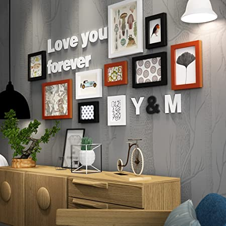 Prime Hhnp Photo Frames Family Solid Wood Photo Wall Living Room Download Free Architecture Designs Madebymaigaardcom