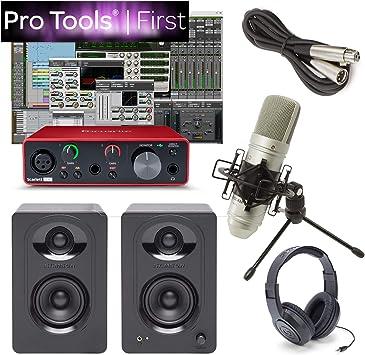 Amazon.com: Focusrite solo altavoces de estudio de grabación ...
