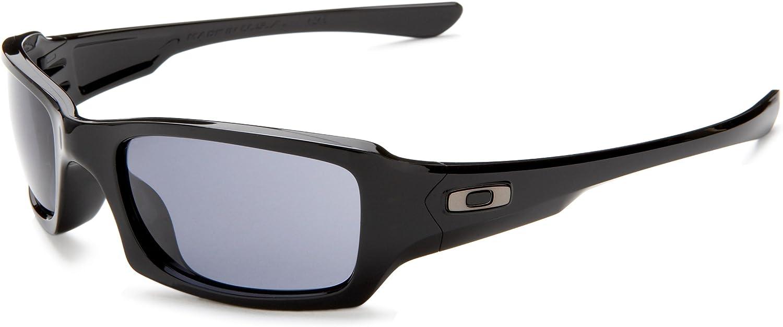 Oakley Men's Oo9079 Fives Squared Rectangular Sunglasses