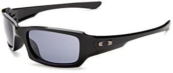 Oakley Uni Sonnenbrille Fives Squared, polished black/grau, 03-440