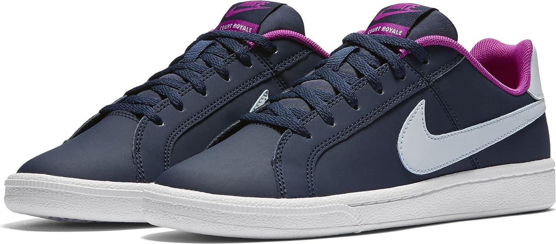 Nike 833654-400, Zapatillas de Deporte Niña, Azul (Midnight Navy/Blue Tint-Hyper Violet), 37.5 EU