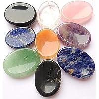 Beautiful siete Chakra Worry piedras cristal curación Reiki
