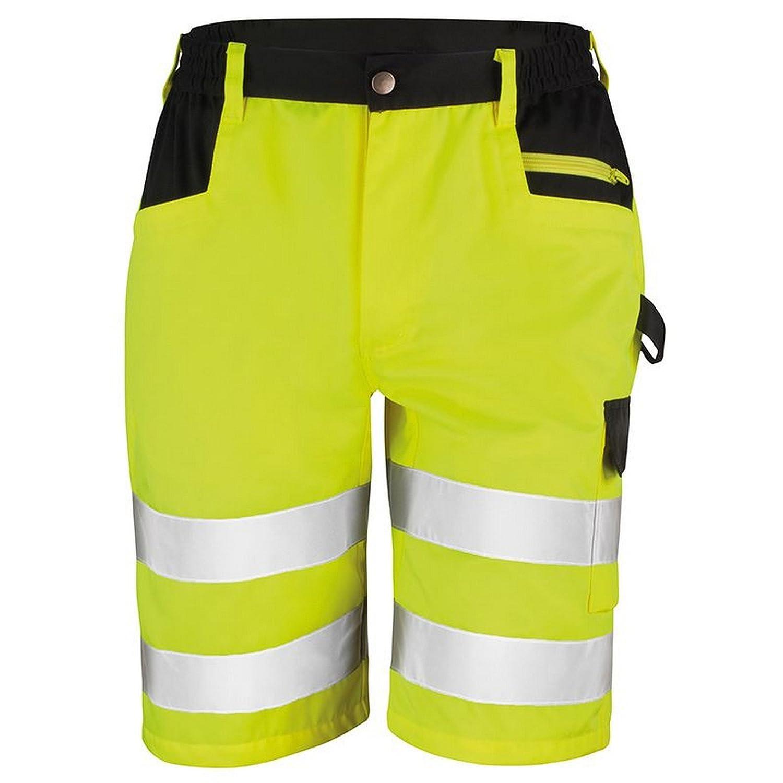 Giallo Taglie dalla S alla XXL Portwest Pantaloncini ad Alta visibilit/à in Policotone Colore