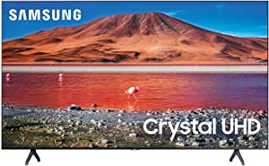 Samsung 50-inch TU-7000 Series Class Smart TV   Crystal UHD - 4K HDR - with Alexa Built-in   UN50TU7000FXZA, 2020 Model